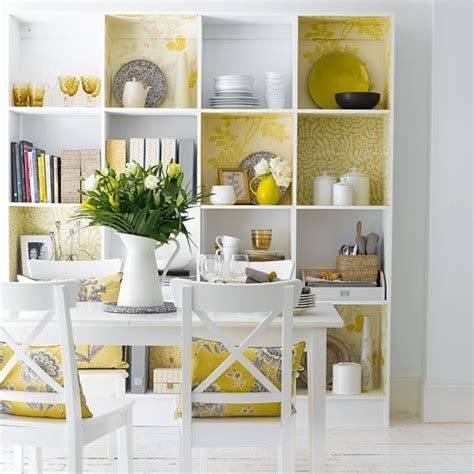 Decorative Storage Shelves - decorative dining room shelving dining rooms design