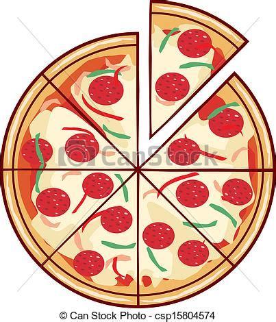 Decorator Pattern C Pizza by Illustrazioni Vettoriali Di Fetta Illustrazione Pizza