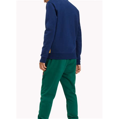 color sweat sweat hilfiger color block pour homme