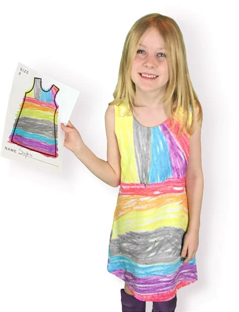 make your own clothes design picture this lets your kid design own dresses