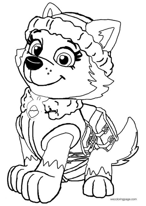 34 Awesome Coloring Pages For Kids Paw Patrol Picture