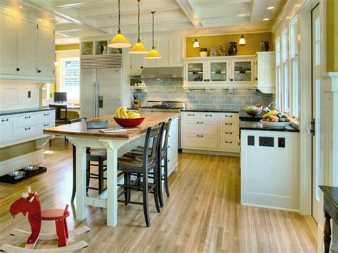 kitchen table of color press color in the kitchen interiors for families 9602