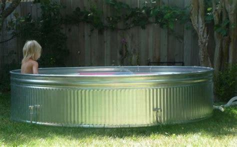 metal water tub 22 genius ways to use stock tanks galvanized tubs