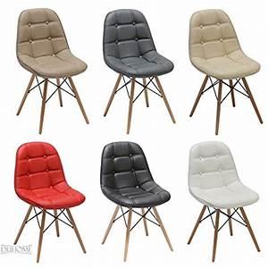 chaise salle a manger lot de 2 en similicuir selection de With salle À manger contemporaineavec chaise couleur pied bois