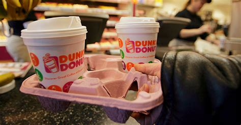 dunkin donuts plans  phase  polystyrene foam cups