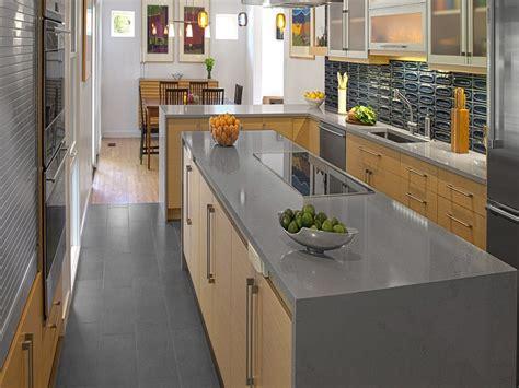 grey color quartz kitchen countertop   chinablack