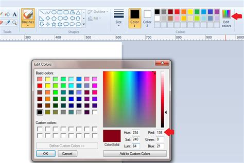 microsoft paint color match findcolours webnotex