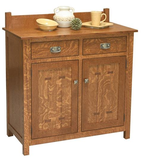 Amish Sideboard by Amish Gettysburg 2 Door Sideboard From Dutchcrafters