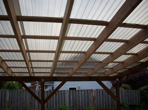 polycarbonate patio roof panels polycarbonate patio cover deck masters llc portland or