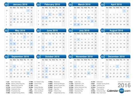 week calendar calendar template