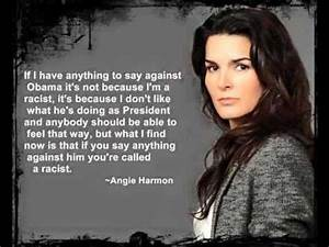 Actress Angie HARMON BLACKLISTED After She Says THIS About ...