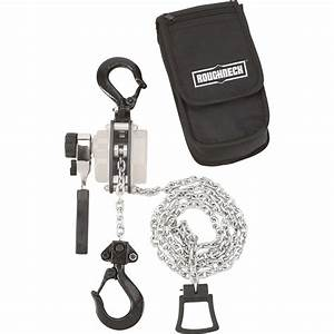 Roughneck Manual Lever Chain Hoist  U2014 1  2