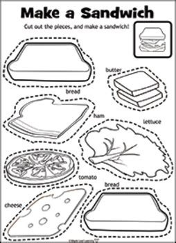 lets   sandwich activity  maple leaf learning tpt