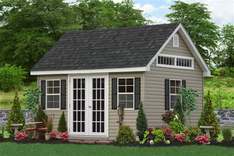 Backyard Outbuildings - amish storage sheds wood sheds vinyl storage shed kit
