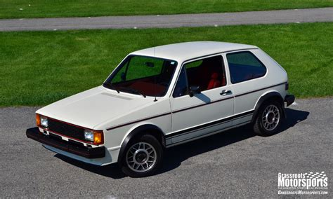 Vintage Views Vw Rabbit Gti Articles