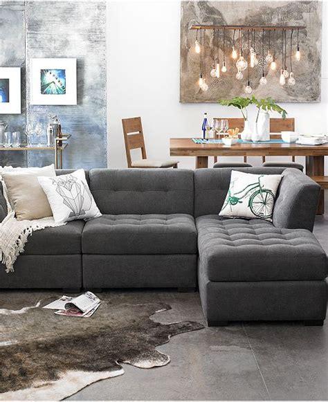 Furniture Closeout! Roxanne Fabric 6piece Modular
