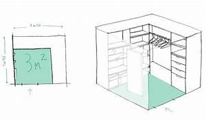 Lit 2m Sur 2m : dressing gain de place 4 solutions d architectes pour optimiser l espace ~ Teatrodelosmanantiales.com Idées de Décoration