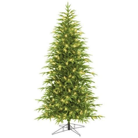 cheap 7 5 ft x 48 in artificial christmas tree pre