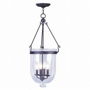 Transitional bell urn pendant lighting bellacor
