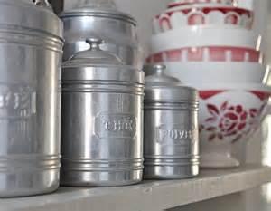 vintage kitchen canister set vintage kitchen canister set by petitsdetails on etsy