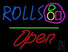 1000 images about Rolls Neon Sign on Pinterest