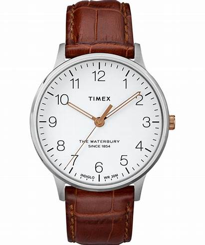Waterbury Classic Timex Watches Strap Leather 40mm