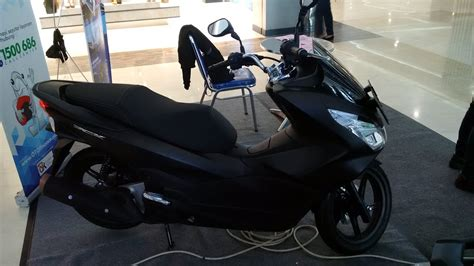 Pcx 2018 Warna Hitam by Sekilas Honda All New Pcx 150 Hitam Doff