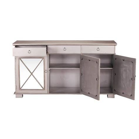 Silver Sideboard by Dominique Antique Silver Mirrored Sideboard Furniture La