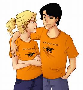 Percy and Annabeth by realgoodpizza on DeviantArt