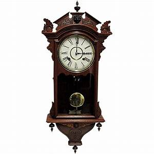 Waterbury antique wall clock 100 original and fully for Antique wall clock images
