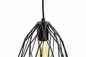 Abat Jour Design : lampe abat jour filaire noir oxted suspension pas cher ~ Melissatoandfro.com Idées de Décoration