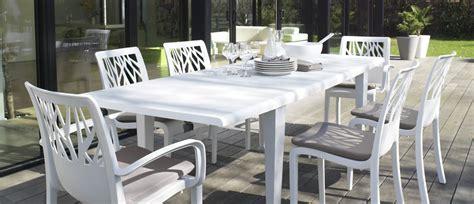 chaise blanc stunning chaise de jardin grosfillex blanc images
