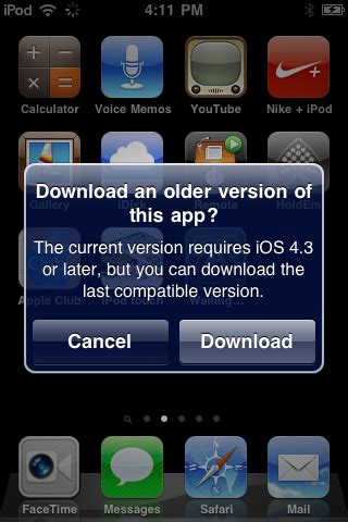 app store downloading versions of apps apple club