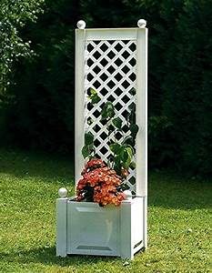 Pflanztrog Mit Rankgitter : pflanzkasten mit rankgitter 43 cm wei pflanzk bel selber ~ A.2002-acura-tl-radio.info Haus und Dekorationen