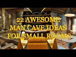 22 AWESOME MAN CAVE IDEAS FOR SMALL ROOMS - YouTube