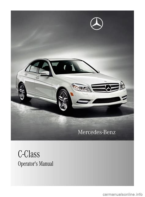 car service manuals pdf 2011 mercedes benz r class interior lighting mercedes benz c class 2011 w204 owner s manual