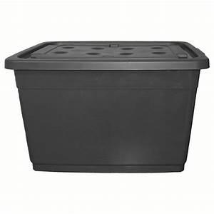 Kunststoffbox Mit Deckel 100 L : 160 liter aufbewahrungsbox grau ~ One.caynefoto.club Haus und Dekorationen