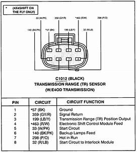 Neutral Safety Switch Wiring Diagram Ford