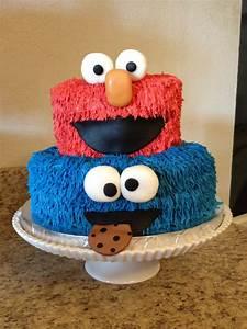 Sesame Street Cake - CakeCentral com