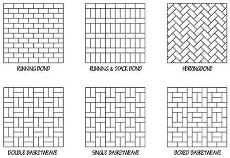 names of brick patterns landscape design hardscapes bruder inc lorain ohio oh