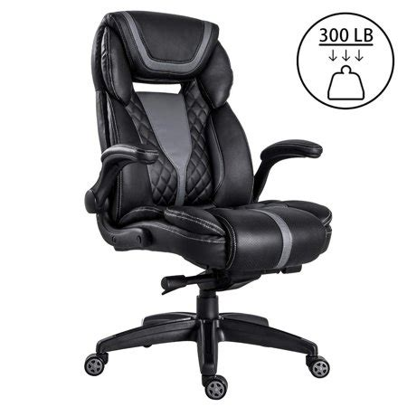 Office Chairs That Support 300 Lbs by Lch High Back Executive Office Chair 300 Lbs For Big