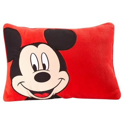 mickey mouse pillow mickey mouse 174 throw pillow 16 quot x12 quot target