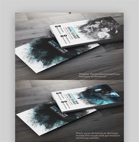 vertical business card template photoshop 15 sided vertical business card templates word