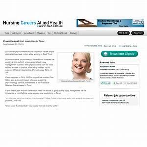 Nursing careers allied health website karen finnin for Allied health careers