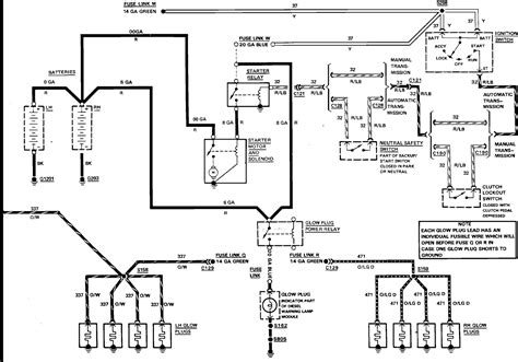 Need Wire Diagram For The Glow Plug Relay