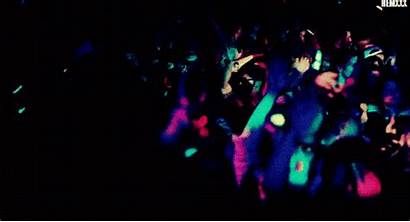 Neon Party Rave Gifs Lights Giphy Animated