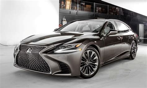 lexus sedan 2018 lexus ls500h the sophisticated sedan for the younger