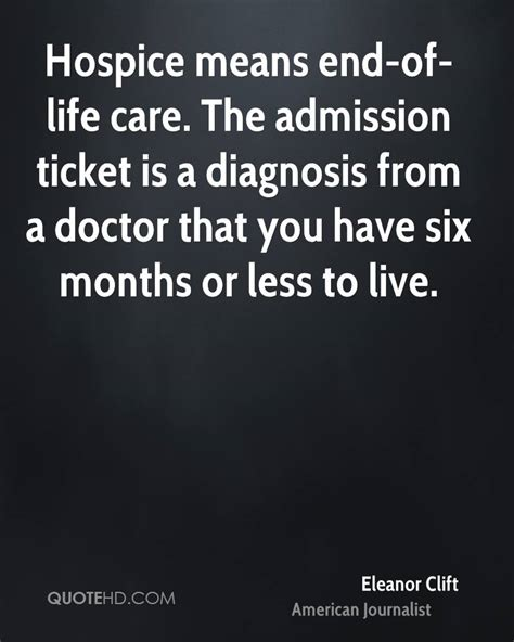 End Of Life Care Quotes