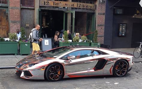winning chrome aventador  gumball  business insider