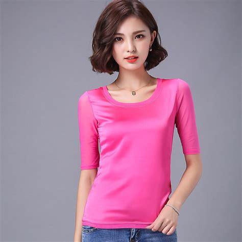 cheap ladies silk blouses
